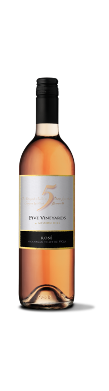 Five Vineyards Rose 2018