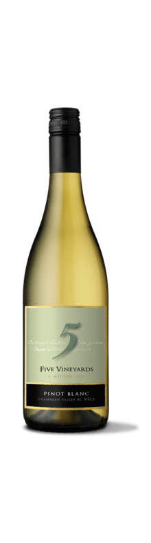 Five Vineyards Pinot Blanc 2018