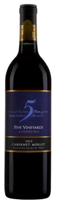 Five Vineyard Cabernet Merlot 2015