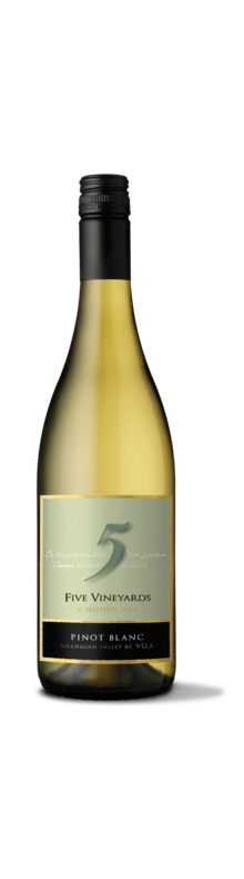Five Vineyards Pinot Blanc 2015